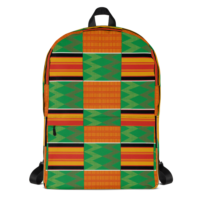Asante Kente Print 'Dummienu' — Backpack