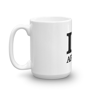 I ❤ AFRICA (RASTA/BLACK) — Coffee Mug