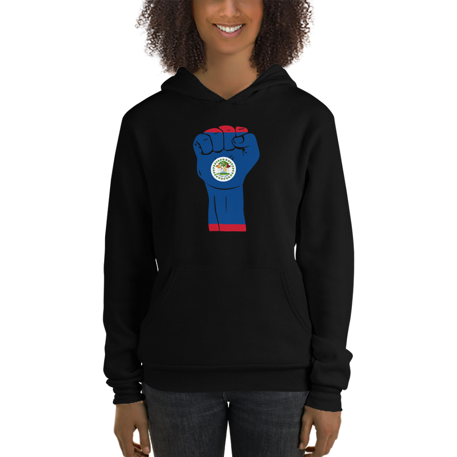 RAISED FIST 'BELIZE' — Women's Pullover Hoodie