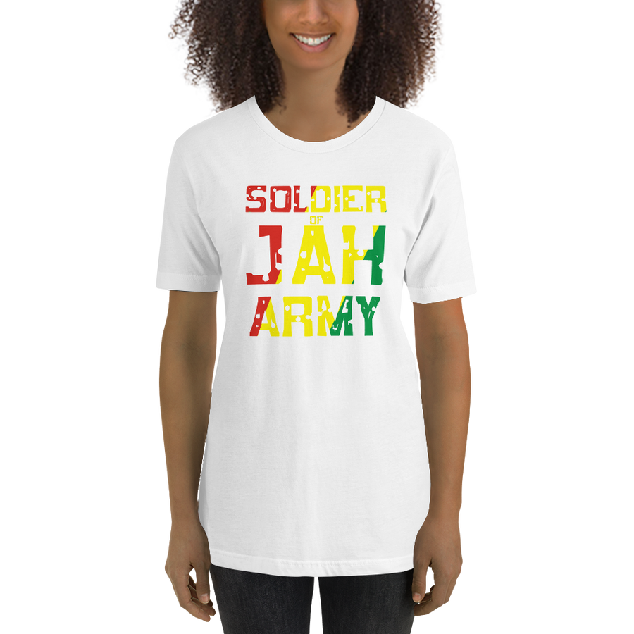 SOLDIER OF JAH ARMY (RASTA) — Women's Premium T-shirt