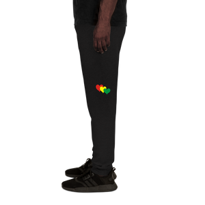 THREE HEARTS (RASTA) — Men's Sweatpants