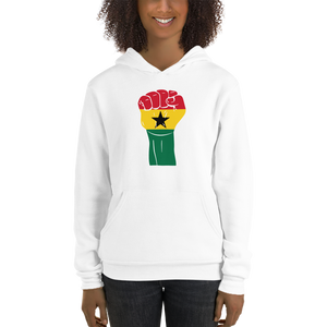 RAISED FIST 'GHANA' — Women's Pullover Hoodie