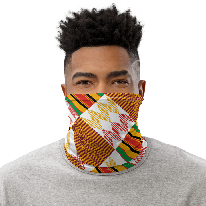 ASANTE KENTE 'EDU' — Neck Gaiter