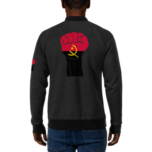 RAISED FIST 'ANGOLA' — Men's Bomber Jacket