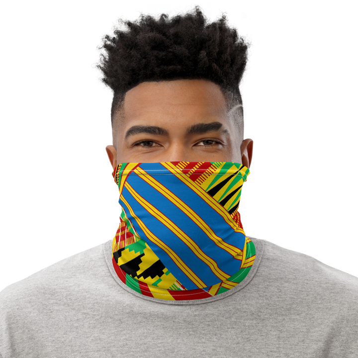 ASANTE KENTE 'ENUM' — Neck Gaiter