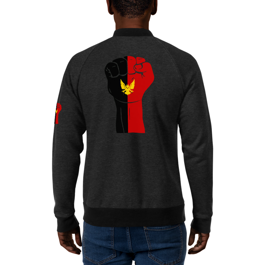 RAISED FIST 'BAMILEKE' — Men's Bomber Jacket