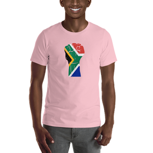 RAISED FIST 'SOUTH AFRICA' — Men's Premium T-shirt