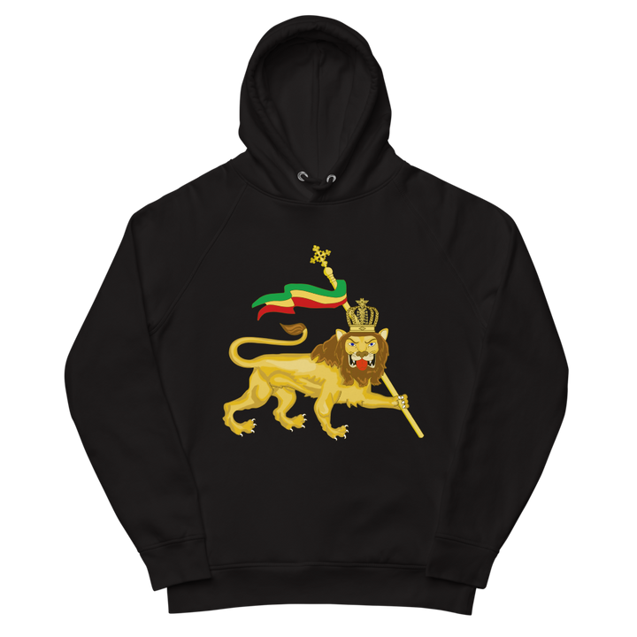 Conquering Lion — Organic Pullover Hoodie