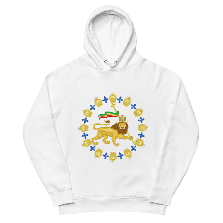 Lion emblem — Organic Pullover Hoodie