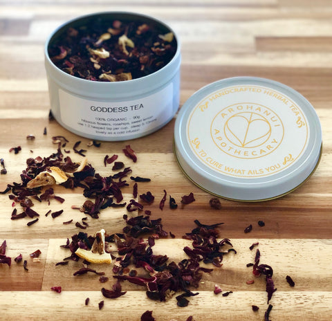 Herbal Tea Blend - Goddess Tea - 90g tin