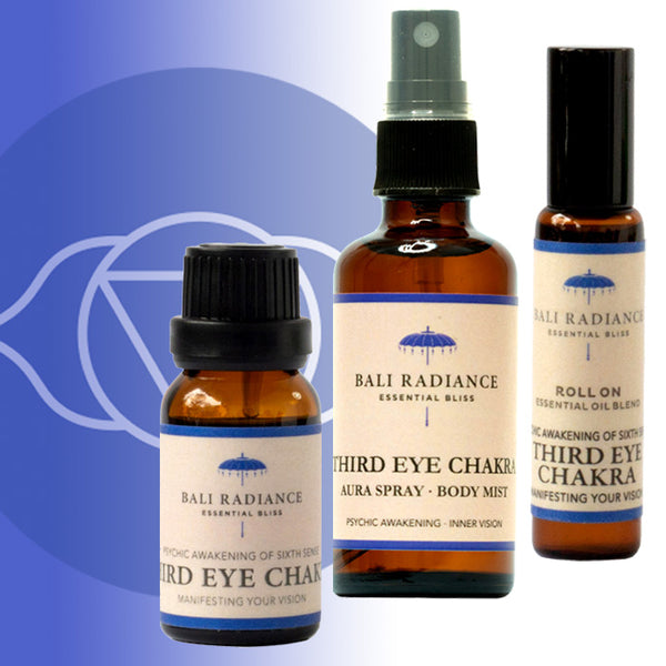 THIRD EYE CHAKRA OIL BLEND