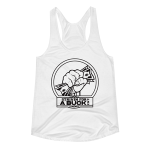 SFB Women's Racerback Tank - Strivin For A Buck Ent Merch
