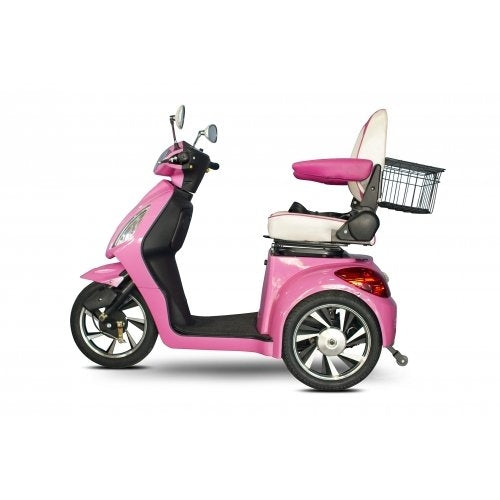 "EW-80 ""PRETTY IN PINK"" 3-Wheel Electric Mobility Scooter"