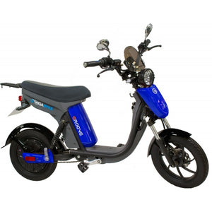 V2- GigaByke Groove 2.0 - 750W Electric Motorized Bike (Blue)