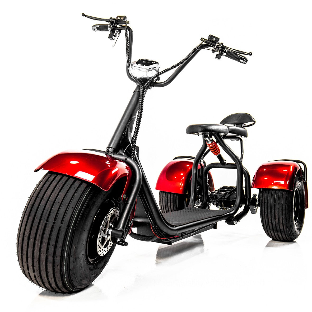 EW-21 Electric 3-Wheel Chopper Scooter