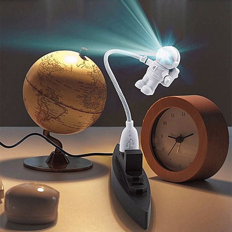 ***FREE**** Mini Flexible USB Spaceman Astronaut LED Lamp - Sunporium