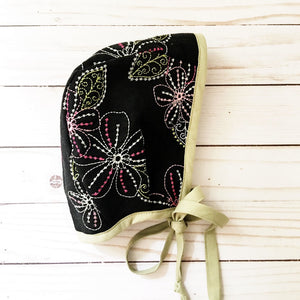 Evelynn Embroidered Bonnet