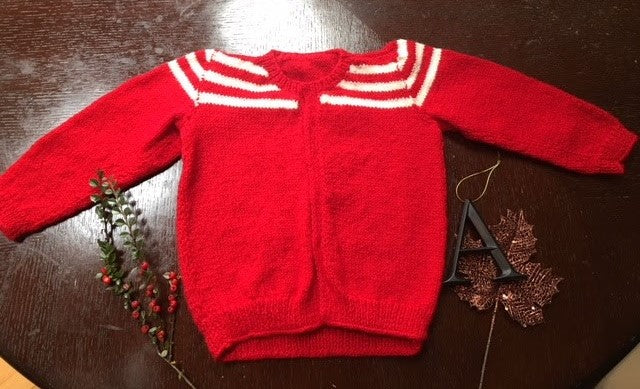 Corey Knit baby Sweater