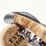 Premium Stainless Steal Corkscrew Wine and Beer Opener with Leather Case and Gift packaging