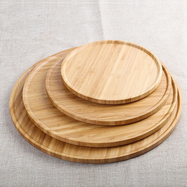 Round Bamboo Serving Boards