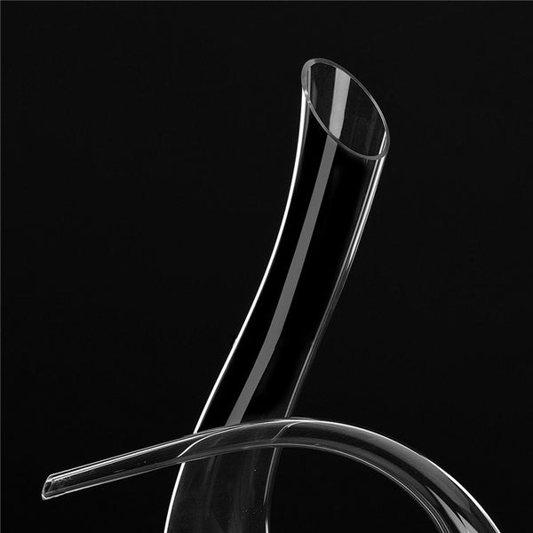 C-Bend Crystal Decanter