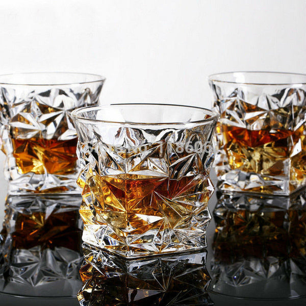 Square Crystal Whiskey Glass