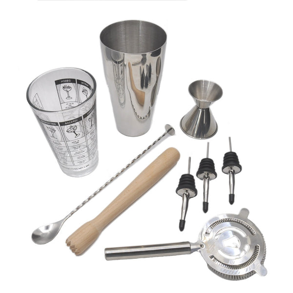 Silver Boston Cocktail Set