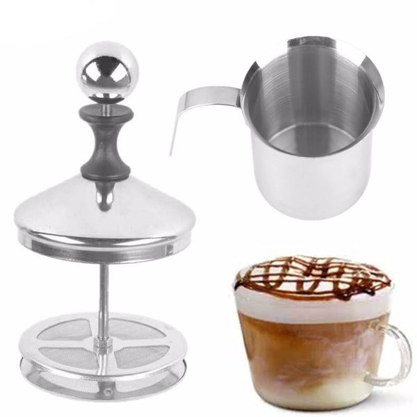Double Mesh Milk Frother