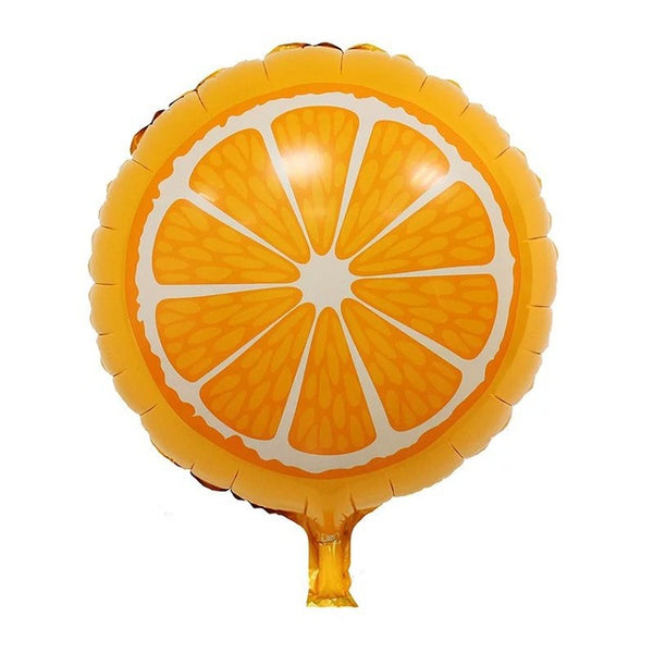 Tootie Fruity Orange Balloon