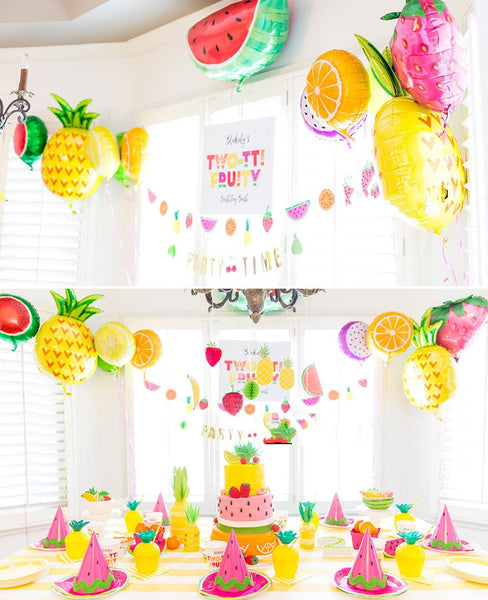 Tootie Fruity Kiwi Fruit Balloon