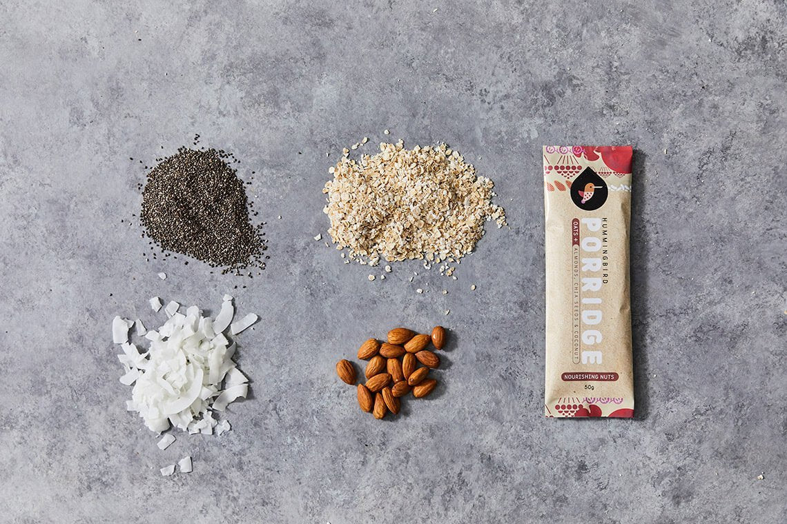 Nourishing Nuts Porridge