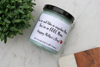 Cool Mom Candle, Choose Your Scent, 8 oz. Candle