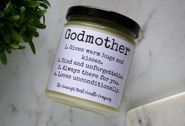 Godmother Candle, Choose Your Scent