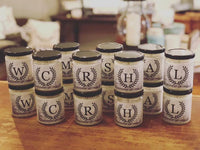 Monogram Candles, Soy Candles, Personalized 8 oz. Candle, Choose Your Scent