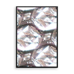 Flawless (White Diamonds) - Wall Art from Art Above All. Encrust your home or office walls with this wall print fit for the Hollywood actor or actress in you.  This framed wall print is available in multiple sizes.