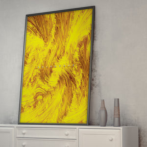 "Goldgeous - (Gold Tone) Wall Art from Art Above All. Hang ""Goldgeous"" on your living room, bedroom or office wall as your personal validator to always inform you of your flawlessness."