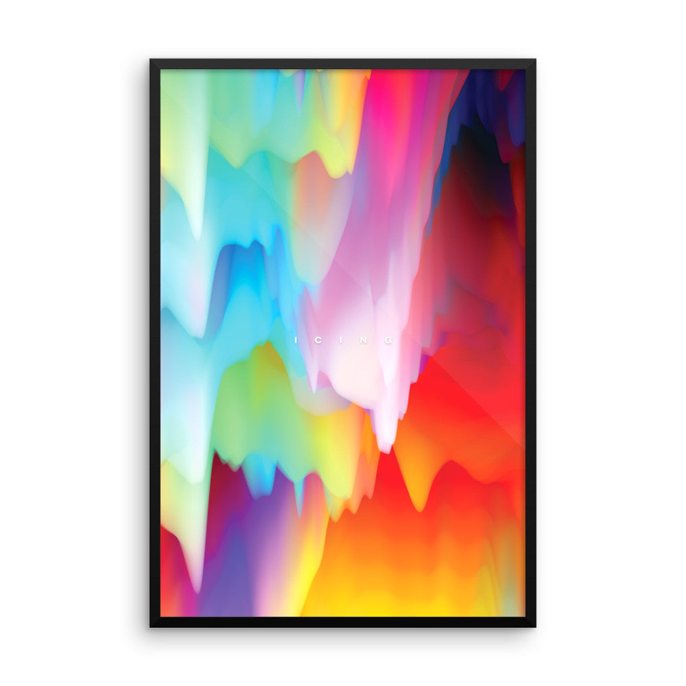 Icing - ( Multi-Color) Wall Art from Art Above All. Add a sweet and colorful touch to your home or office wall and leave your friends savoring the bitter flavor of jealousy.