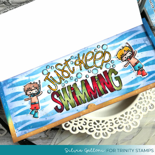 Just Keep Swimming - Clear Stamp