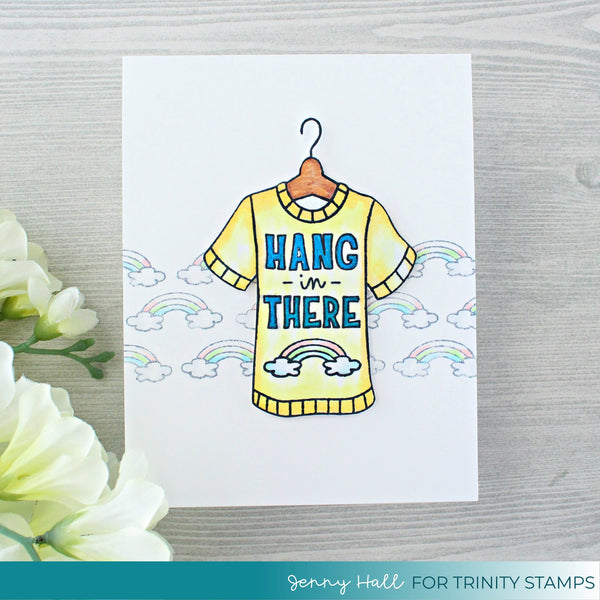Hang In There - Clear Stamp