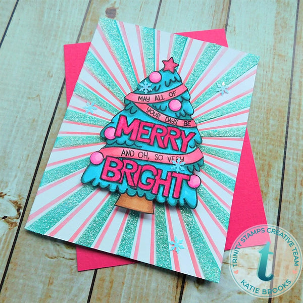 Merry & Bright - Clear Stamp