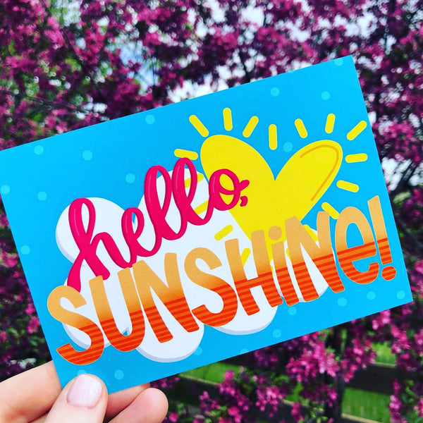 Hello, Sunshine! - Postcard