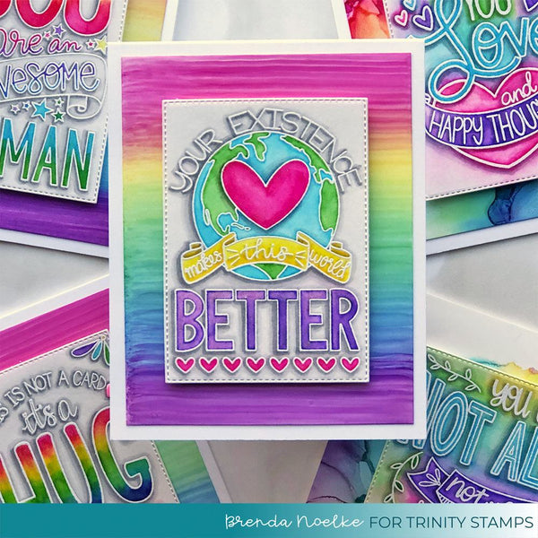 A Better Place - Clear Stamp