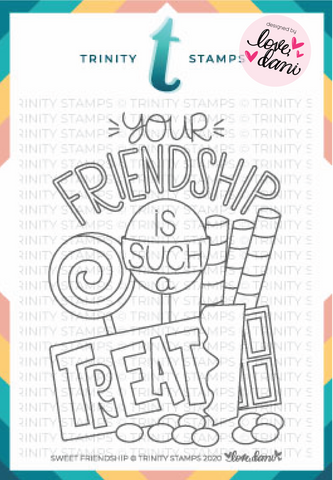 Sweet Friendship - Clear Stamp