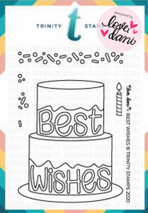 Best Wishes - Clear Stamp