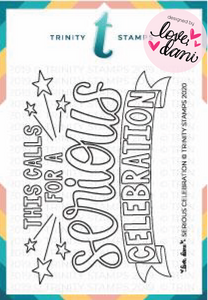 Serious Celebration - Clear Stamp