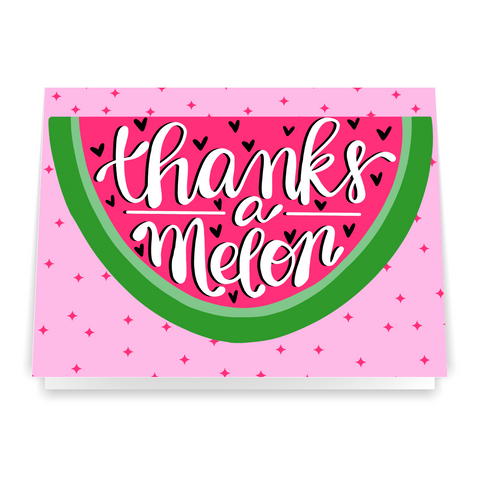 Thanks a Melon - Greeting Card