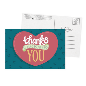 Thanks For Being You - Postcard