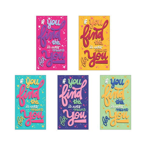 Tiny Notes of Encouragement - Set of 10