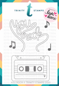 You Rock - Clear Stamp