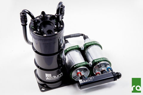 Radium Dual External Pump Fuel Surge Tanks